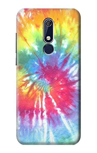 Tie Dye Colorful Graphic Printed Case Cover For Nokia 5.1, Nokia 5 2018 from Innovedesire