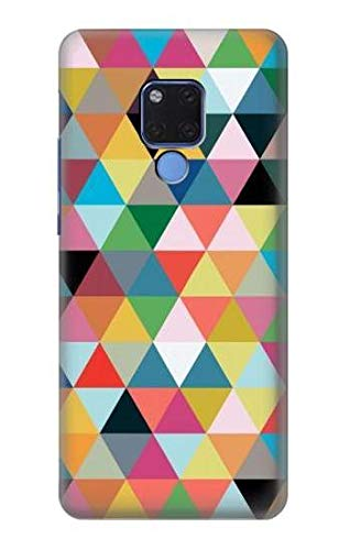 Triangles Vibrant Colors Case Cover For Huawei Mate 20 X from Innovedesire