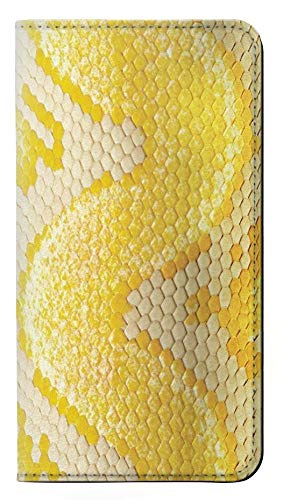 Yellow Snake Skin Graphic Printed PU Leather Flip Case Cover For Sony Xperia XA2 from Innovedesire