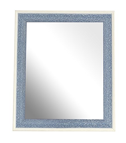 Inov8 Framing Inov8 British Made Traditional Mirror, 10x8 Inch Frame, Austen Blue Wash, Pack of 4 from Inov8 Framing
