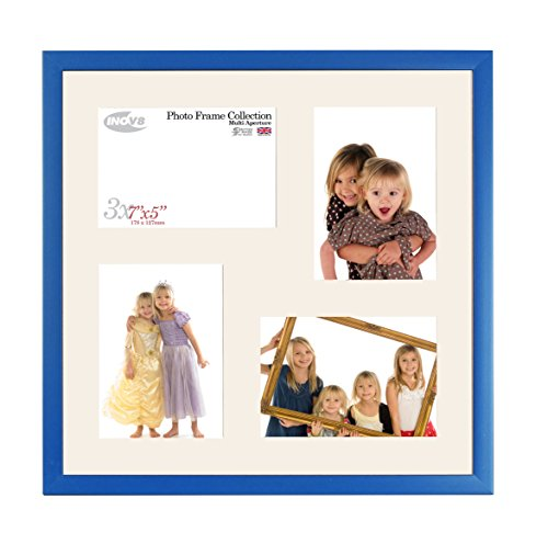 Inov8 British Made Picture/Photo Frame, Value Royal Blue 16x16 Collage Inch, Pack of 2 from Inov8 Framing