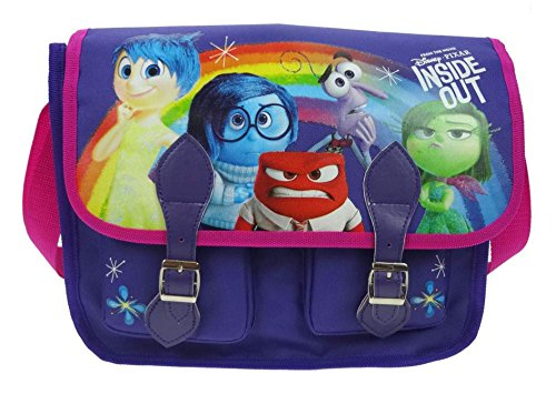 Inside out Messenger Bag, 32 cm, 7 Liters, Purple from Inside Out