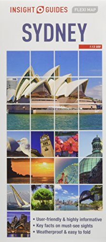 Insight Guides Flexi Map Sydney (Insight Flexi Maps) from Insight Maps