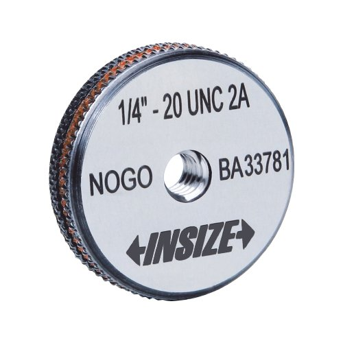 INSIZE 4633-5D2N NOGO ANSI B1.2 American Standard Thread Ring Gauge, 5/16 - 24 UNF from Insize