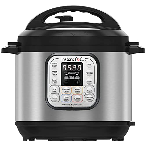 Instant Pot Duo V2 7-in-1 Electric Pressure Cooker, 6 Qt, 5.5L 1000 W, Brushed Stainless Steel/Black, 220-240v, Stainless Steel Inner Pot from Instant Pot