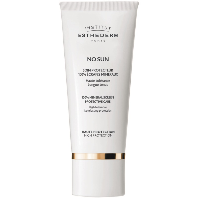 Institut Esthederm No Sun 100% Mineral Screen Protective Care 100% Mineral Cream for Face and Body High Sun Protection 50 ml from Institut Esthederm