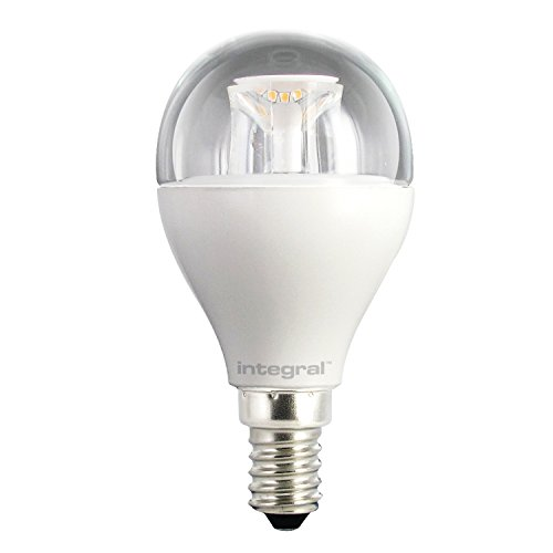 Integral LED Dimmable Clear Mini Globe Bulb (E14 Small Screw 6.5 W LED 2700 k 470 lm) - Warm White from Integral