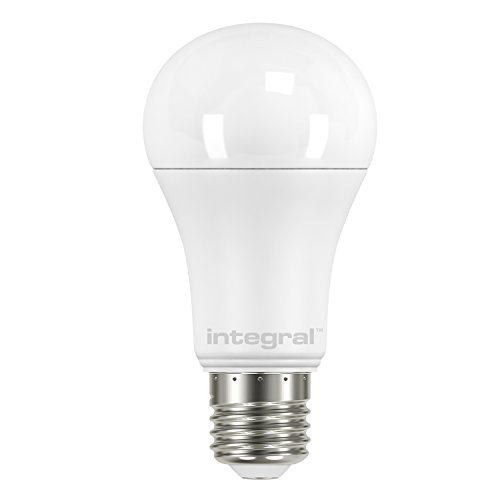 Integral LED Dimmable Frosted GLS Classic Globe Bulb( E27 Screw 14 W LED 2700 k 1521 lm) - Warm White from Integral