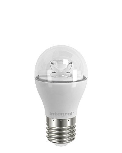 Integral LED 6W 470lm Mini Globe E27 2700K Dimmable Clear (40W) from Integral