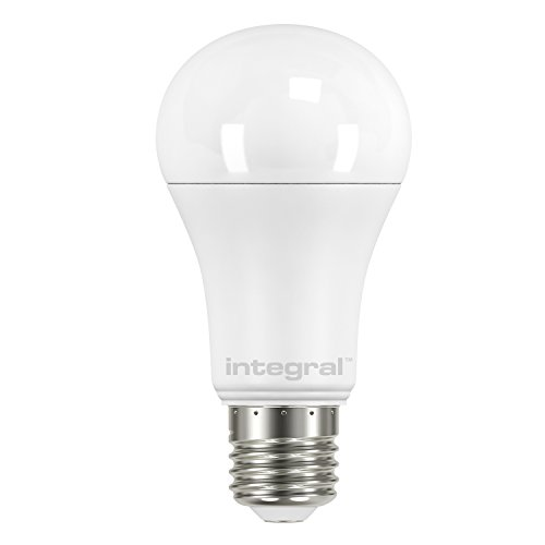 Integral LED Non-Dimmable Frosted GLS Classic Globe Bulb (E27 Screw 13.5 W LED 5000 k 1521 lm) - Cool White from Integral