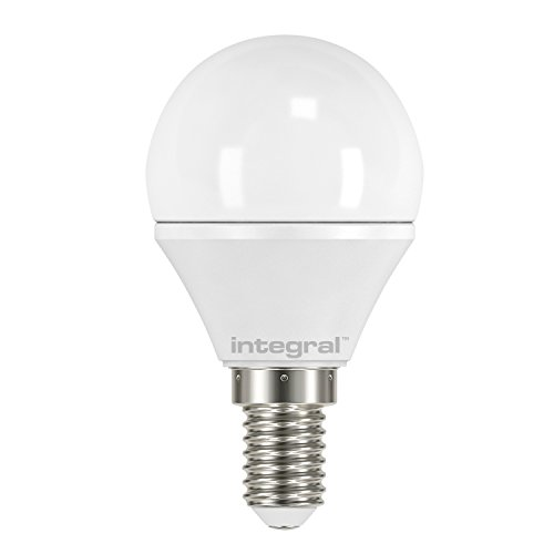 Integral LED Non-Dimmable Frosted Mini Globe Bulb (E14 Small Screw 3.8 W LED, 2700 k, 250 lm) - Warm White from Integral