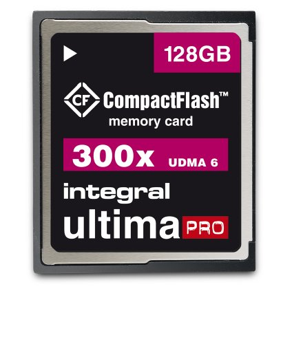 Integral 128GB Compact Flash card UltimaPro UDMA 6 memory 300x from Integral