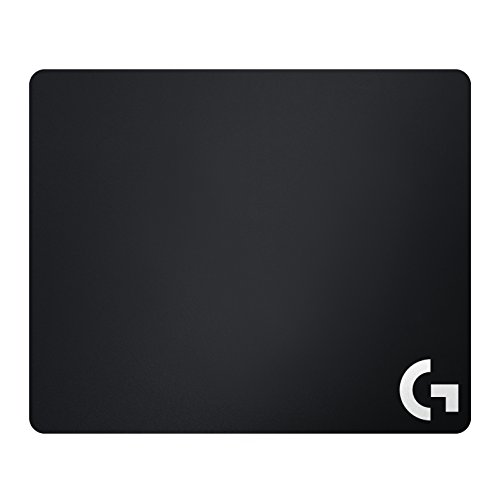 Logitech G240 Cloth Gaming Mouse Pad, 340 x 280 mm, Thickness 1mm, For PC/Mac Mouse - Black (German Packaging) from Logitech