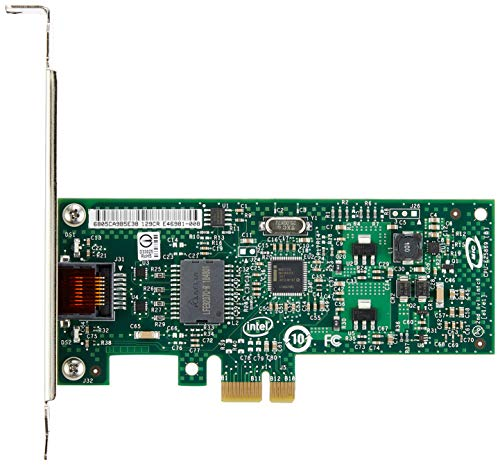 Intel Gigabit PRO/1000 CT 1000Mbit/s networking card - networking cards (Wired, PCI-E, 1000 Mbit/s, 10/100/1000 Mbit/s, Intel 82574L, 1.9 W) from Intel