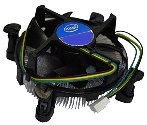 Intel Socket 1155/1156 Aluminum Heat Sink and 3.5-Inch Fan with 4-Pin Connector up to Core i3 3.06GHz (E97379-001) from Intel