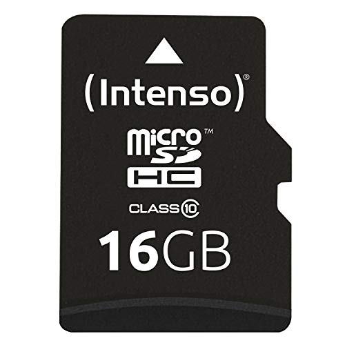 Intenso 3413470 Class 10 Micro SD Card With Adapter from Intenso