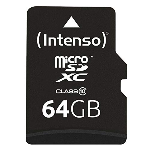 Intenso 3413490 Class 10 Micro SD Card With Adapter from Intenso