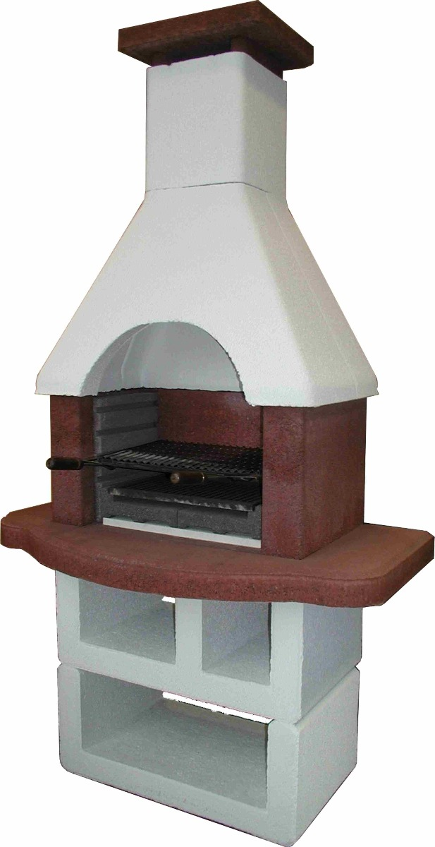 Barbecue masonry 212x120cm / 460kgs from Intergard