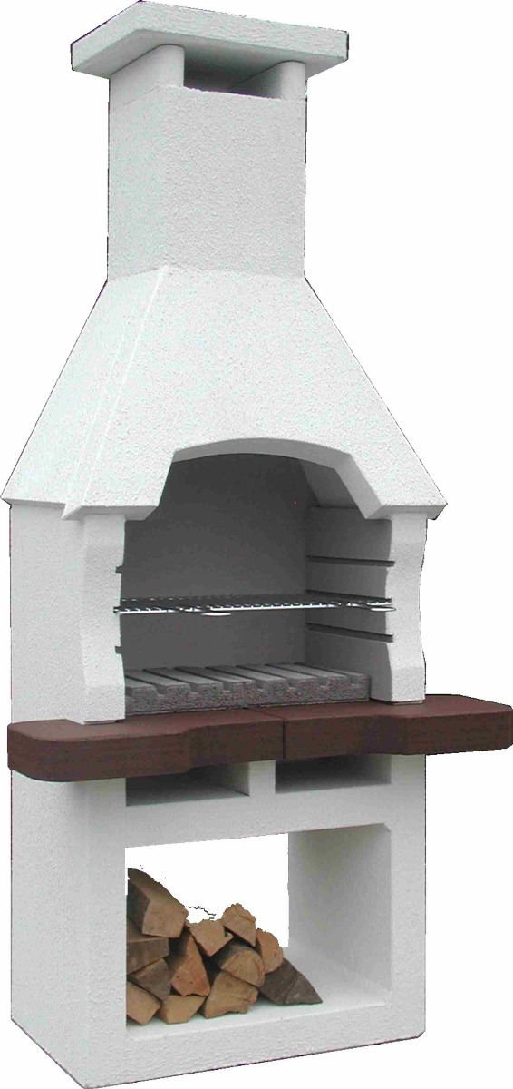 Barbecue masonry 195x93cm / 300kgs from Intergard