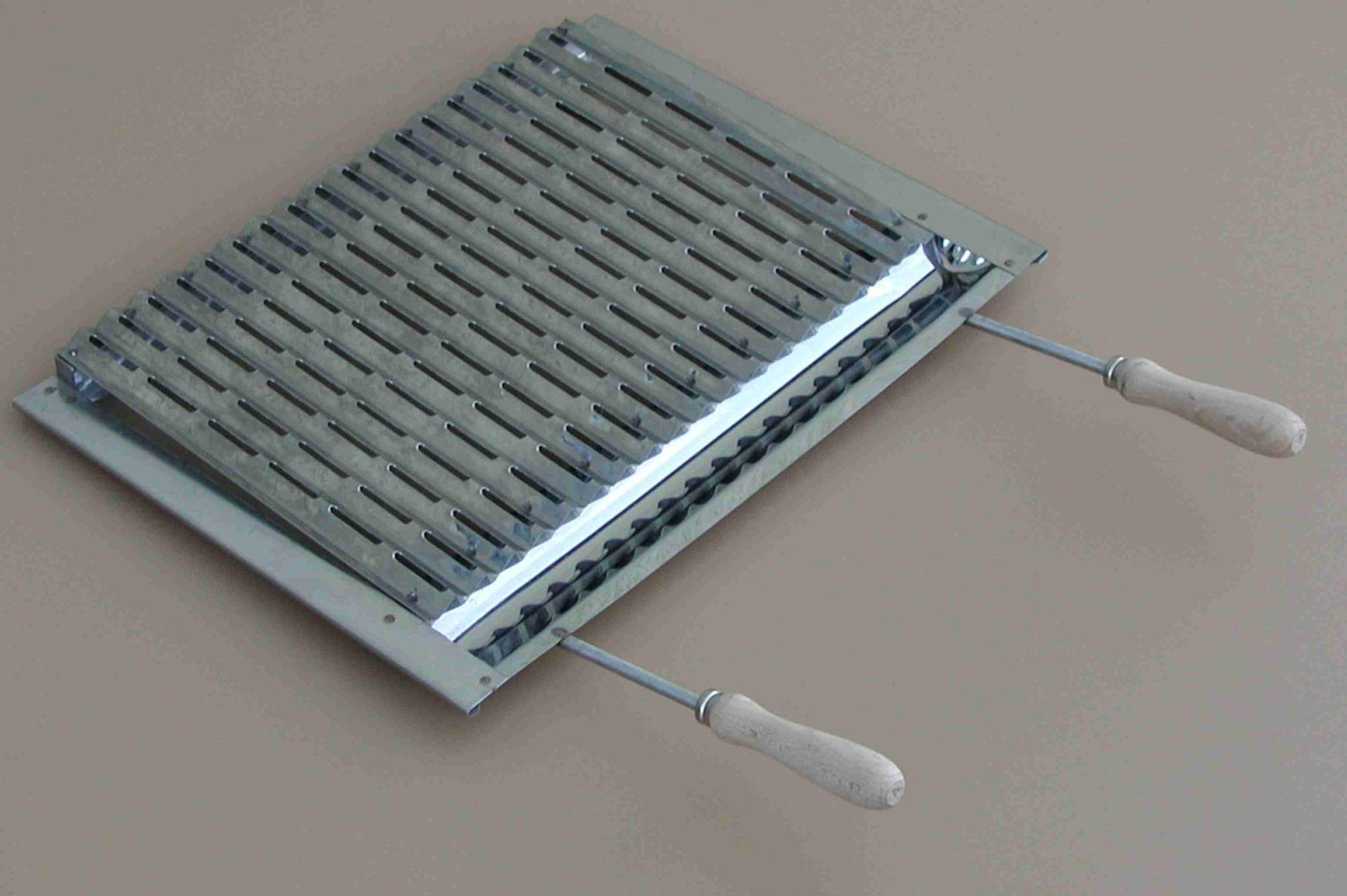 Grill grid stainless steel for barbecue masonry 55x35cm from Intergard