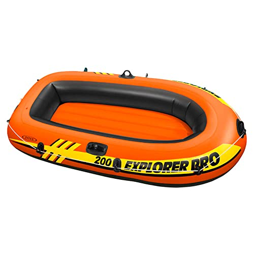 Intex Explorer Pro Inflatable Boat, Boat Only, Two Person (196 x 102 x 33 cm) from Intex