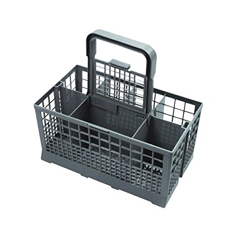Invero® Universal Dishwasher Cutlery Basket ideal for Carrera Eurotech, Homark, Lendi, Powerpoint, Servis, White Westinghouse, Baumatic, Bosch, Neff, Siemens, Tecnik and many more Brands from Invero