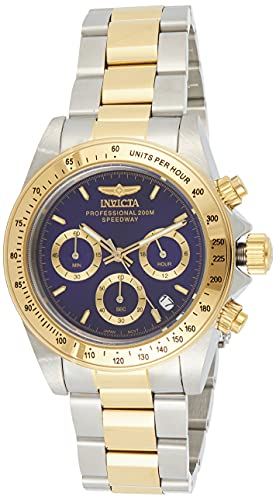 Invicta 3644 Speedway Unisex Wrist Watch Stainless Steel Quartz Blue Dial from Invicta