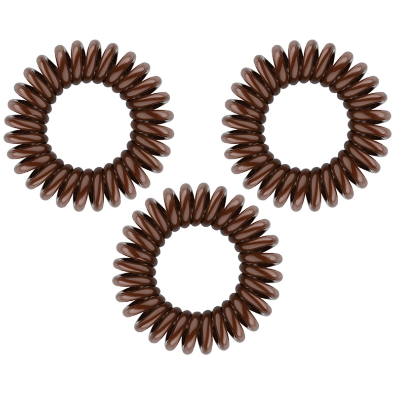 invisibobble Original Hair Elastics 3 pcs Pretzel Brown from invisibobble