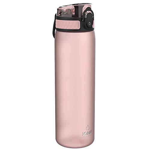 Ion8 Leak Proof Slim Water Bottle, Frosted Rose Quartz, 500ml from Ion8