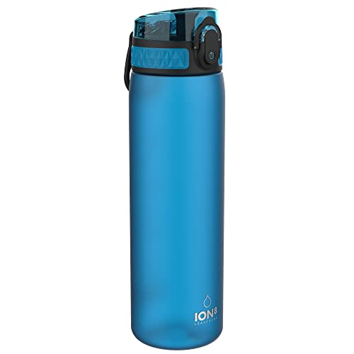 Ion8 Leak Proof Slim Water Bottle, Frosted Blue, 500 ml from Ion8