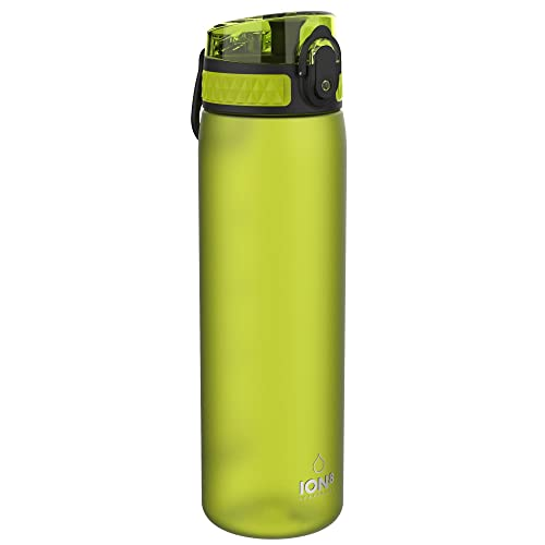 Ion8 Leak Proof Slim Water Bottle, Frosted Green, 500 ml from Ion8