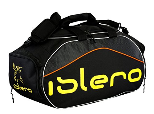 Islero GYM Sports kit bag backpack Duffle football Fitness Training MMA Boxing Luggage Travel Bag (Yellow) from Islero Fitness