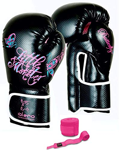 Muay Thai Gloves Kick boxing Glove Punching Bag Sparring Gloves MMA Punch STYLSO Leather Boxing Gloves