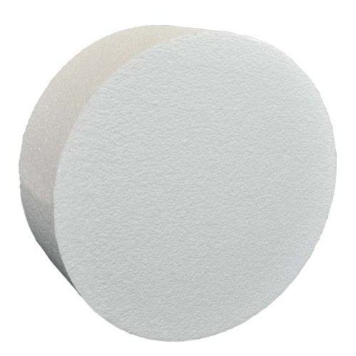 "Round Polystyrene Cake Dummy (10"" Diam 3"" High) from It's Just A Box"