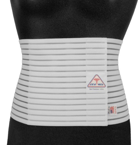 ITA-MED I AB-208M W XX-Large Breathable Abdominal Light Support Binder from Ita-Med