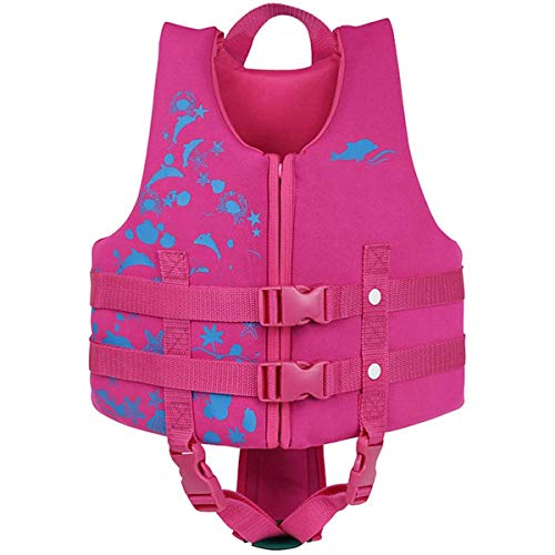 IvyH Kids Swimming Vest - Children Kids Float Jacket Vest Swimming Training Floating Swimsuit Buoyancy Swimwear Swimming Aid Vest from IvyH