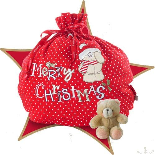 Izziwotnot Forever Friends Santa Christmas Baby Gift Set from Izziwotnot