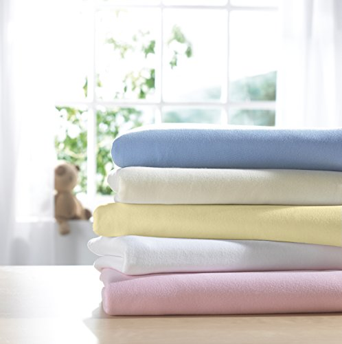 Izziwotnot Jersey Interlock Fitted Cot Sheets 2 pack Blue from Izziwotnot