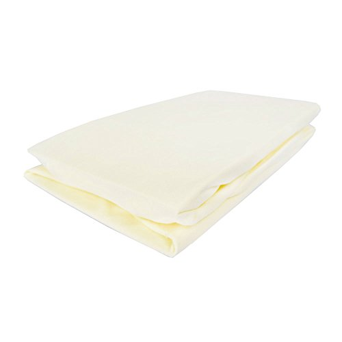 Izziwotnot Jersey Interlock Fitted Cot Sheets 2 pack Lemon from Izziwotnot