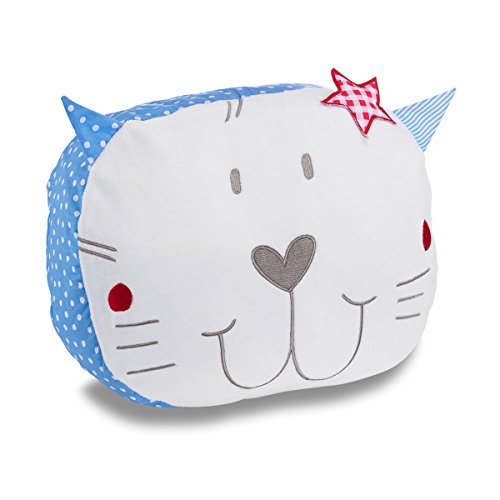 Izziwotnot Petit Henri Cat Cushion from Izziwotnot