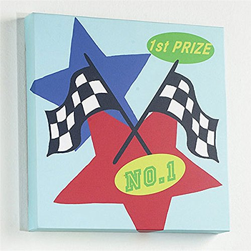 Izziwotnot Pitstop Canvas Wall Art, Winner from Izziwotnot