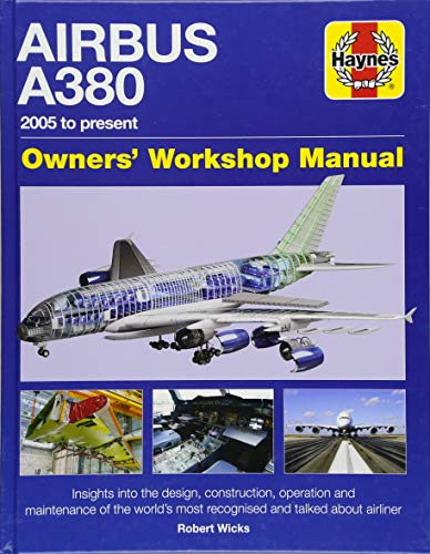 Airbus A380 Manual 2005 Onwards (Owners' Workshop Manual) from Haynes Group