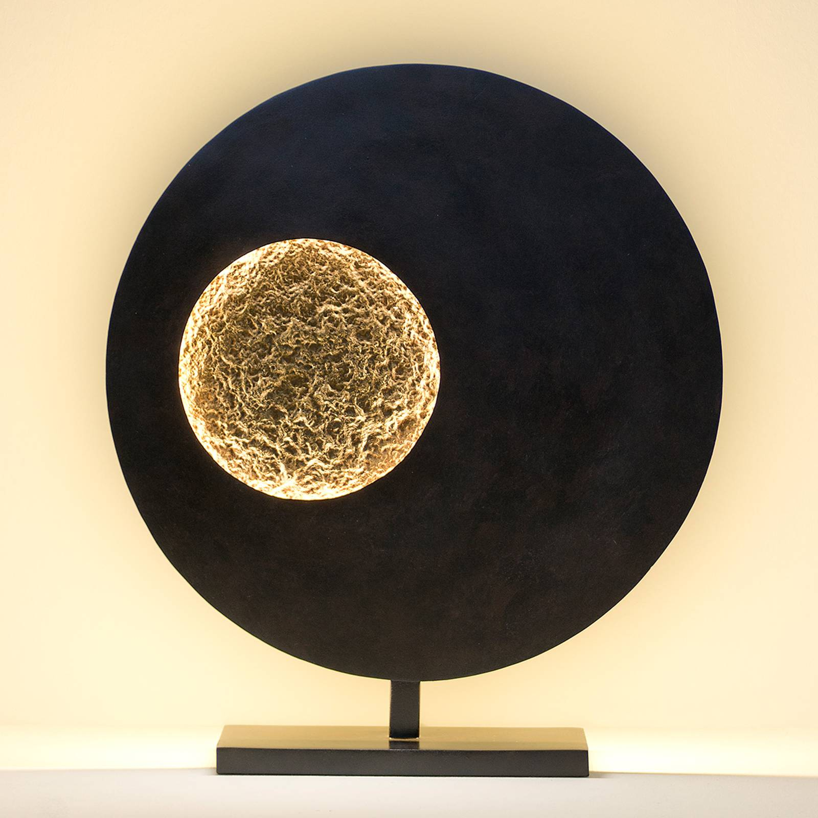 Unique LED table lamp Planet from J. Holländer