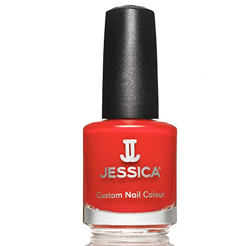 JESSICA Custom Nail Colour, Confident Coral 14.8 ml from JESSICA