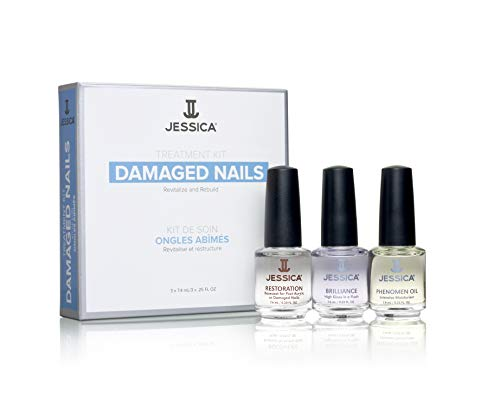JESSICA Treatment Kit for Damaged Nails from JESSICA