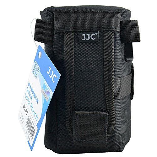 JJC 80 x 152 mm DLP-2 Water-Resistant Deluxe Lens Pouch for Camera from JJC