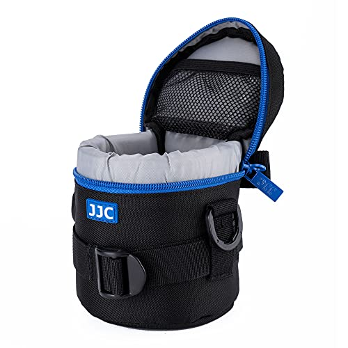 "JJC Water Resistant Deluxe Lens Pouch with Shoulder Strap fits Lens Diameter and Height below 78 x 125mm (3.1 x 4.9"") from JJC"
