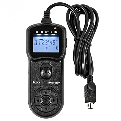 JJC TM-M Multi-Function Timer Remote Control compatible with Nikon MC-DC2 for Nikon D90, D600, D3100 from JJC