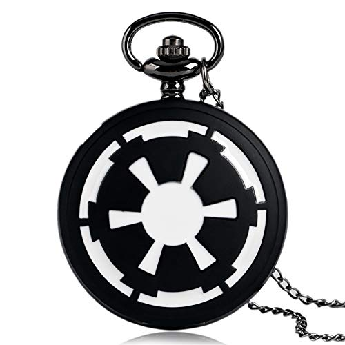 Boy's Pocket Watch, Vintage Retro Galactic Empire Pocket Watch Gift - JLySHOP from JLySHOP