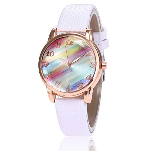 Luxury Brand Watch for Women, Classic Simple Watches for Girls, Rose Gold Montre Quartz Wristwatches for Teenagers - JLySHOP from JLySHOP